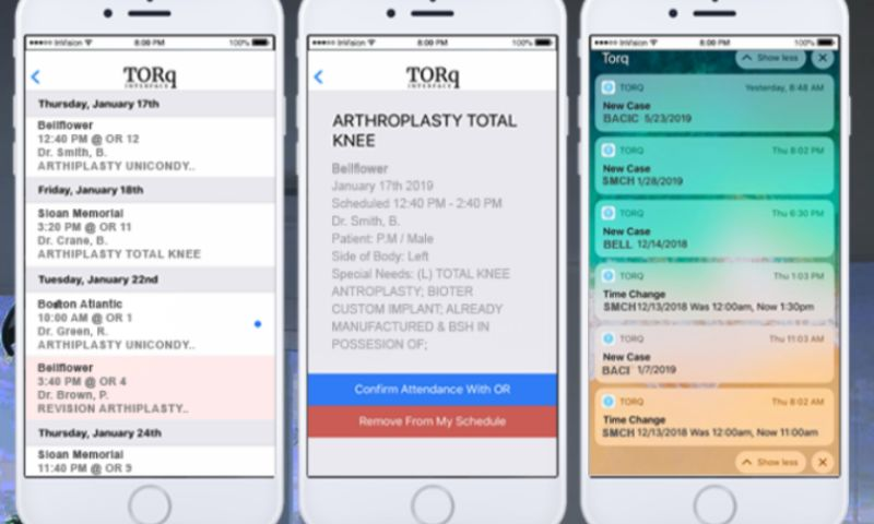 The Gnar Company - Torq Interface: Building a Healthcare mobile app and web platform