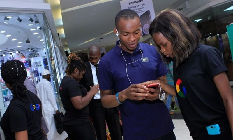 Tequila Nigeria Limited - Google Mall Activation