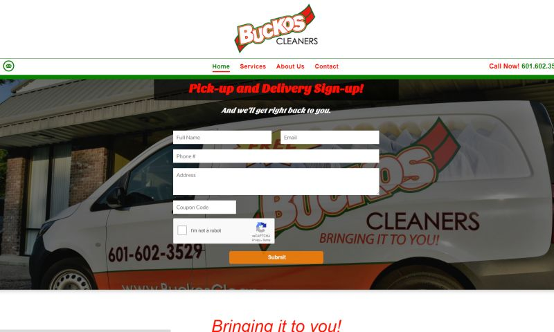 Jensen Ad Solutions LLC - Buckos Cleaners