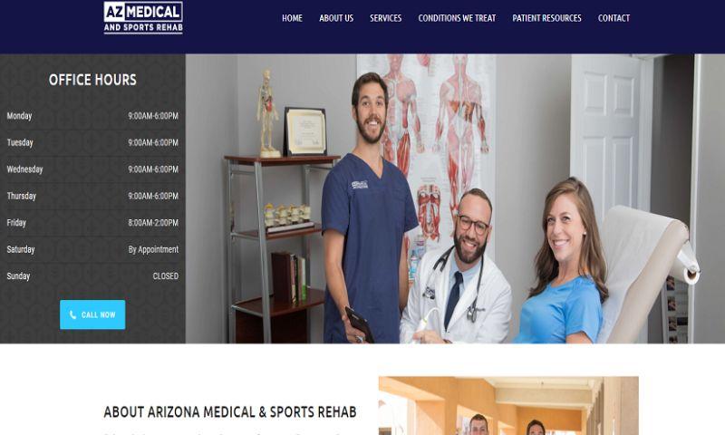 SAG IPL - ARIZONA MEDICAL & SPORTS REHAB