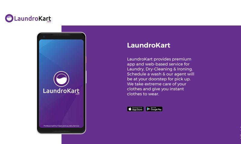 WebClues Global - LaundroKart
