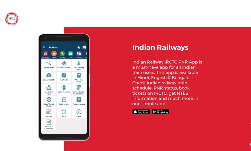 WebClues Global - Indian Railway