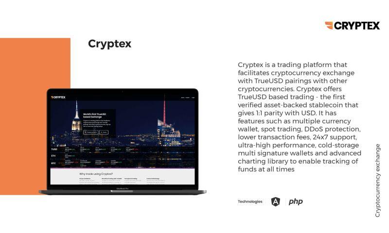 WebClues Global - Cryptex live