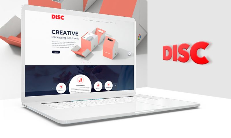 MAXBURST, Inc. - Disc Graphics