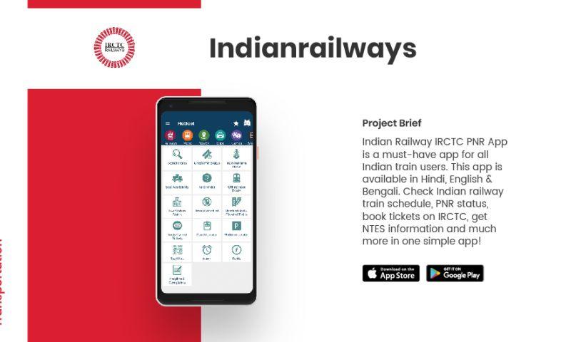 AppClues Infotech - Indian Railways