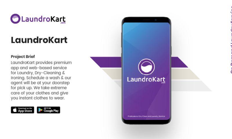 AppClues Infotech - LaundroKart