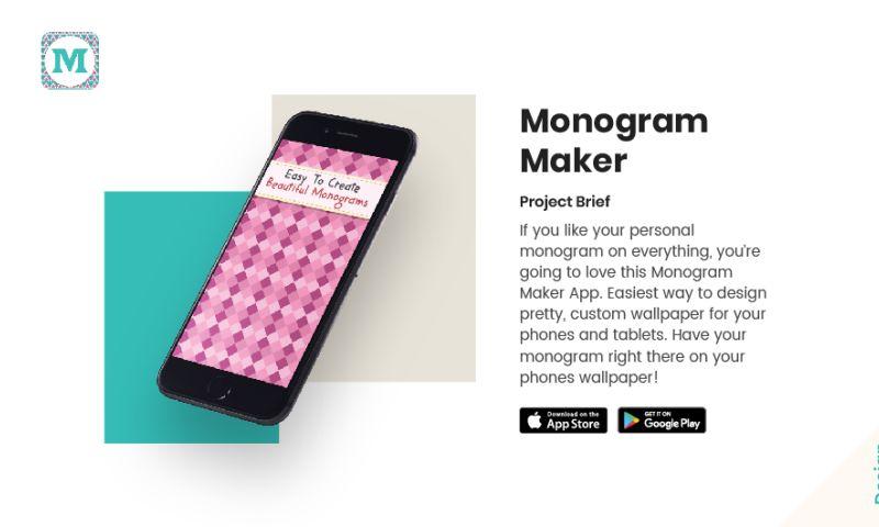 AppClues Infotech - Monogram maker