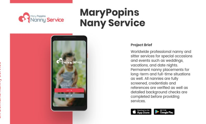 AppClues Infotech - MaryPopins Nany Service