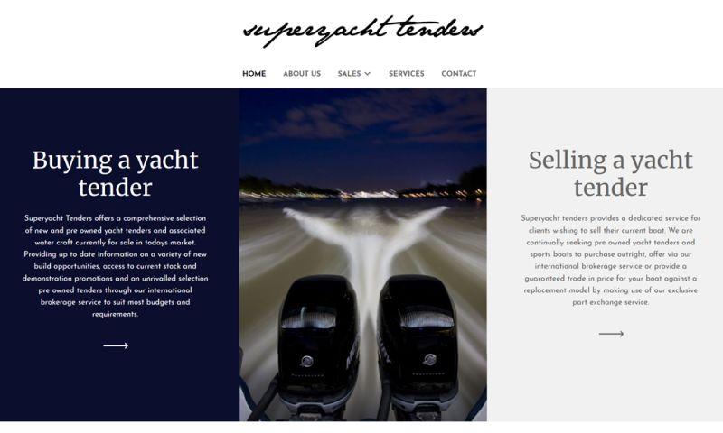 The Webmaster Co. de Barcelona - Superyacht Tenders