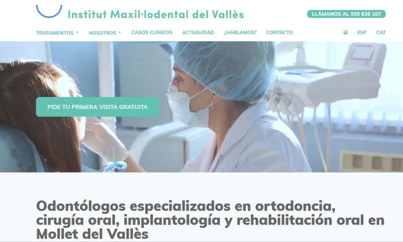 The Webmaster Co. de Barcelona - iMaxilodental