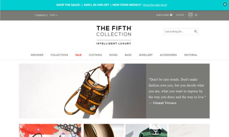 BoTree Technologies - The Fifth Collection(E-Commerce)