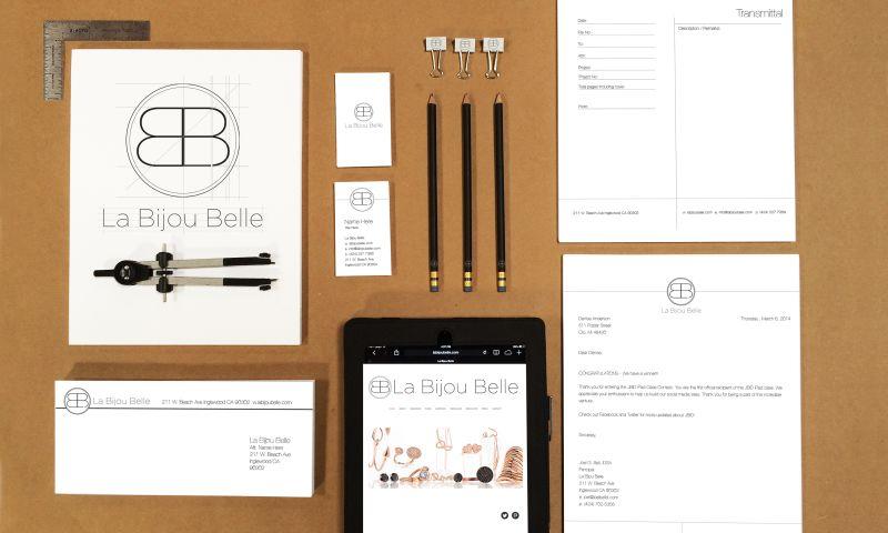 Joel Bell Industrial Design (JBID) - La Bijou Belle Branding