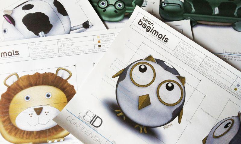 Joel Bell Industrial Design (JBID) - Kids Beanbags