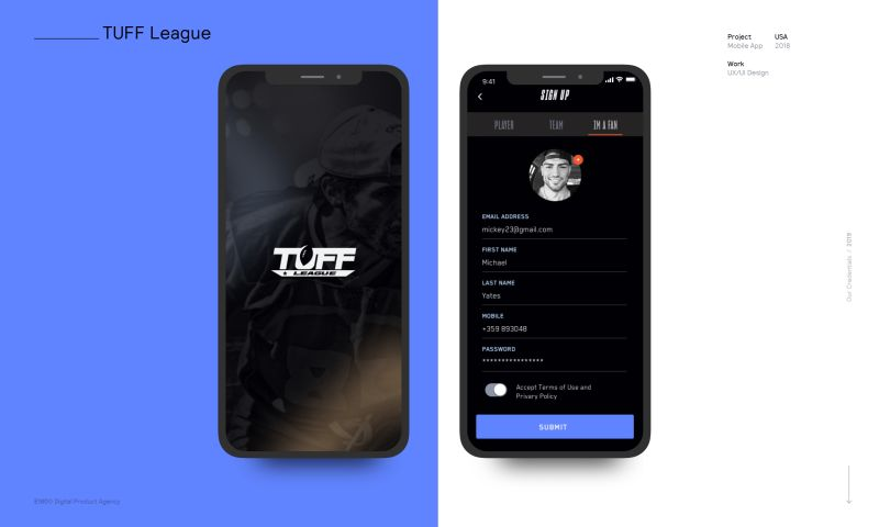 E180 Digital Product Agency - TUFF League