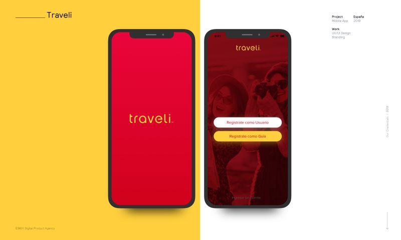 E180 Digital Product Agency - Traveli