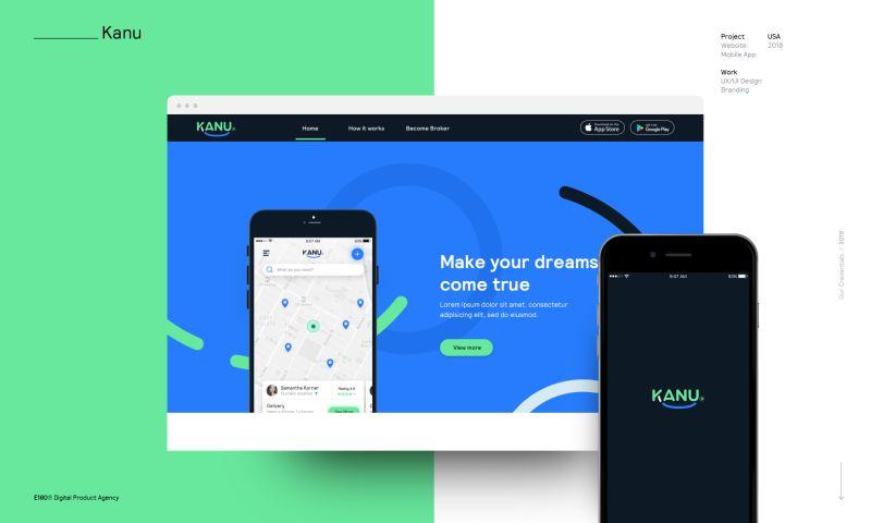 E180 Digital Product Agency - Kanu