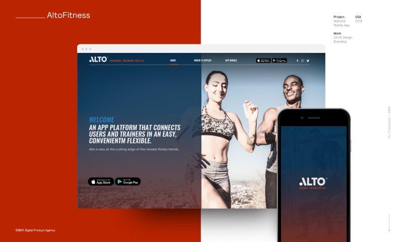 E180 Digital Product Agency - AltoFitness