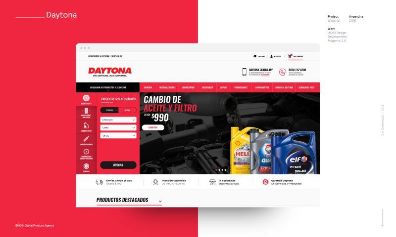 E180 Digital Product Agency - Daytona