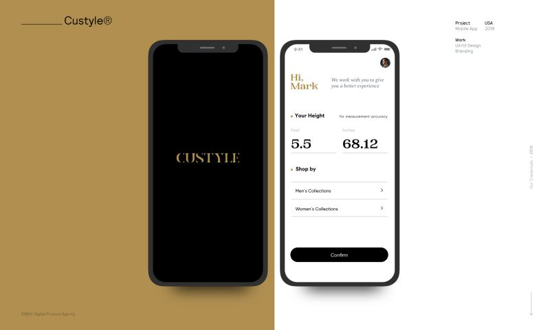 E180 Digital Product Agency - Custyle