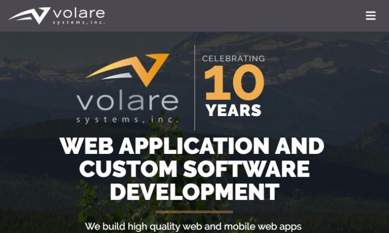 Volare Systems - Volare Systems web site