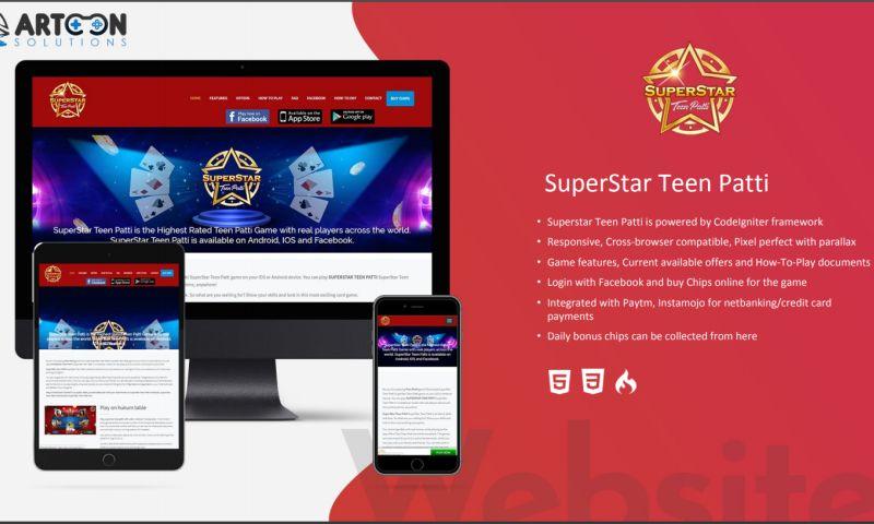 Artoon Solutions - SuperStar Teen Patti