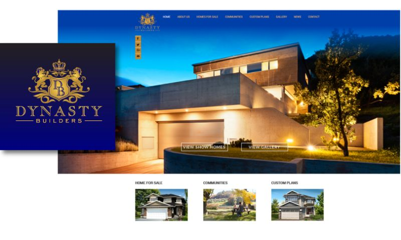 LogoBee - Logo and Website Design for Dynasty Builders