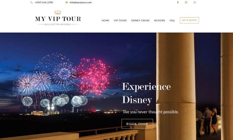 Elite Web Design - MY VIP Tour
