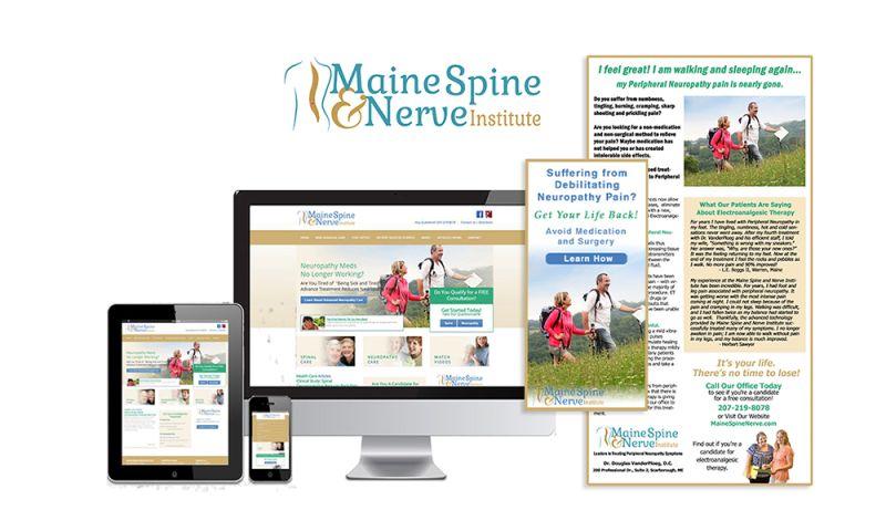 GCMD - Maine Spine & Nerve Institute - Medical Website & Marketing