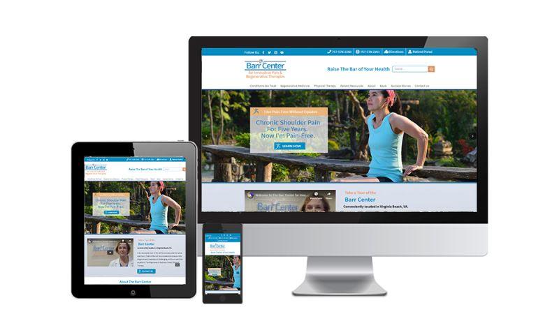 GCMD - Barr Center Website - Medical Website
