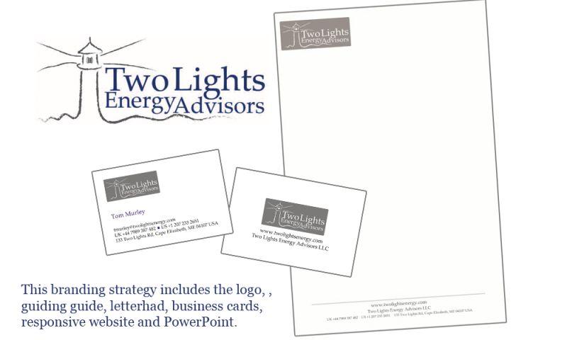 GCMD - Two Lights Energy Consultants Branding