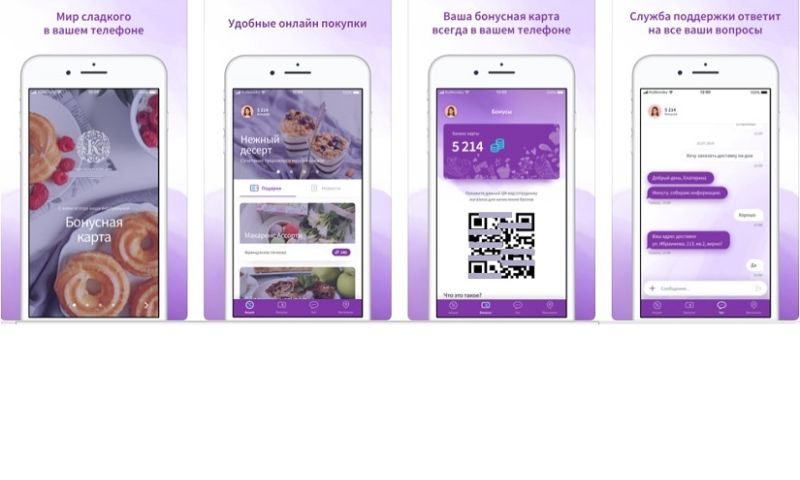 AXETA Software - Mobile apps for Confectionary fabric (iOS+Android+Admin)