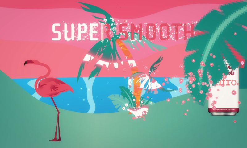 Frost Motion - Left Hand Brewing -Nitro Flamingo Dreams