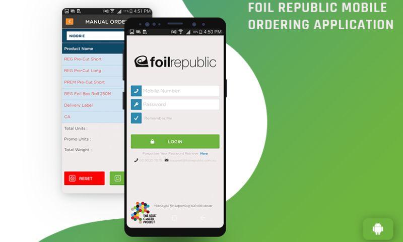 Zealous System - Mobile Ordering Application