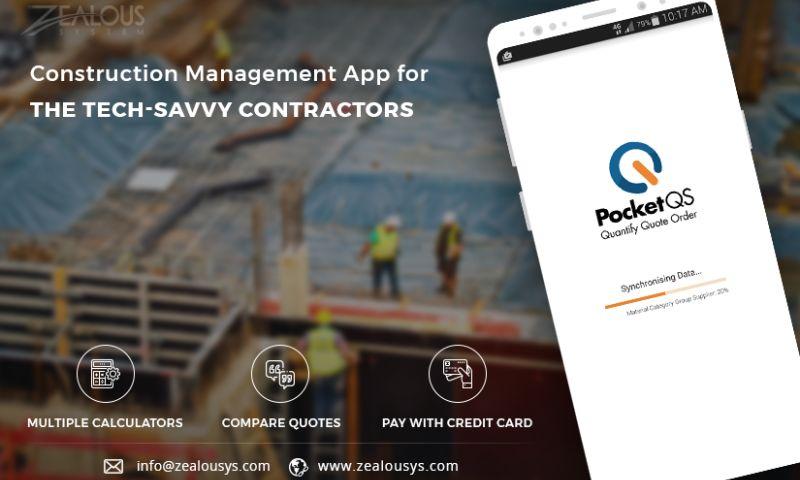 Zealous System - Construction Management App