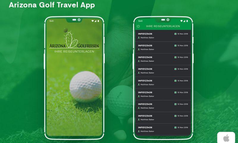 Zealous System - Arizona Golf Travel App