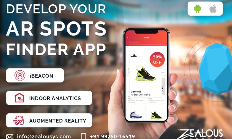 Zealous System - AR SPOTS FINDER