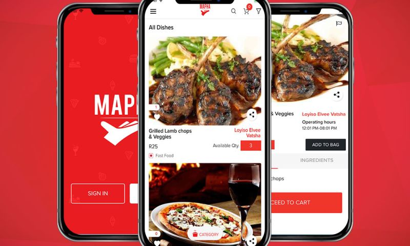 Arka Softwares - Mapha - Food Delivery App like Zomato