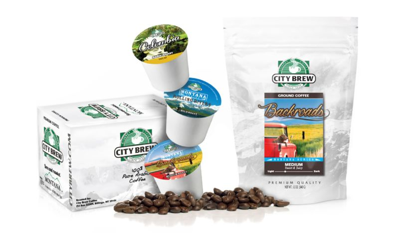 Kinetic Marketing & Creative - City Brew Coffee