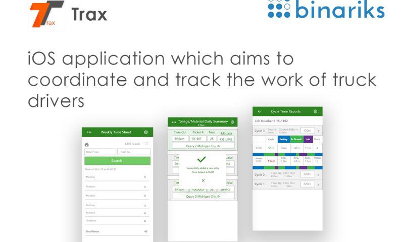 Binariks - TRAX