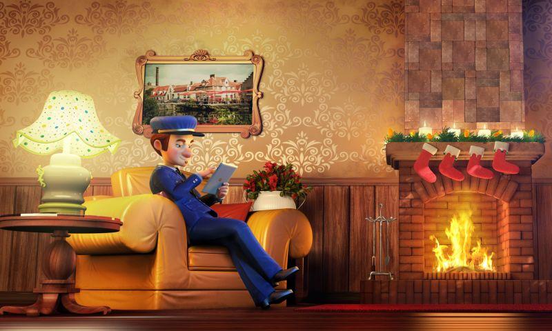 Dream Farm Studios - Santa Claus, Madbid TVC