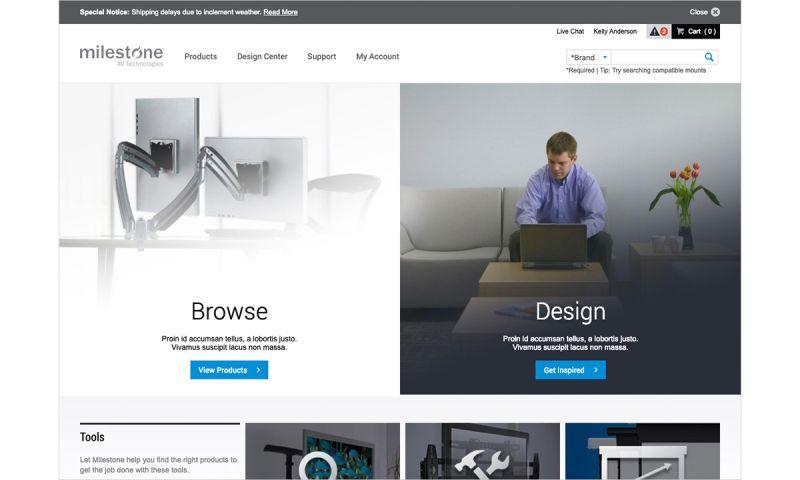 Emergent Software - Sitecore Development with SAP - Milestone Website