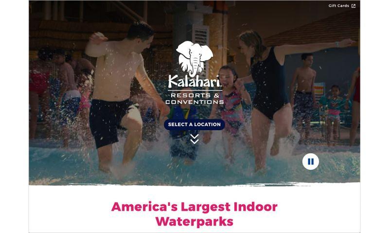 Emergent Software - Umbraco & Azure Website Support - Kalahari Resorts