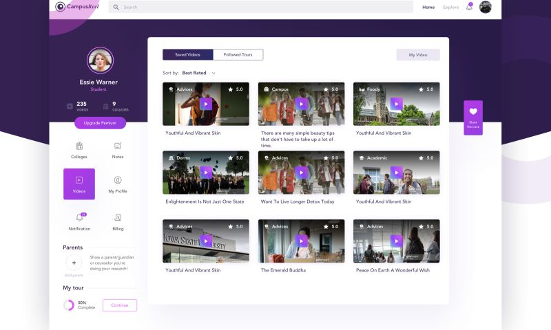Brightscout - CampusReel