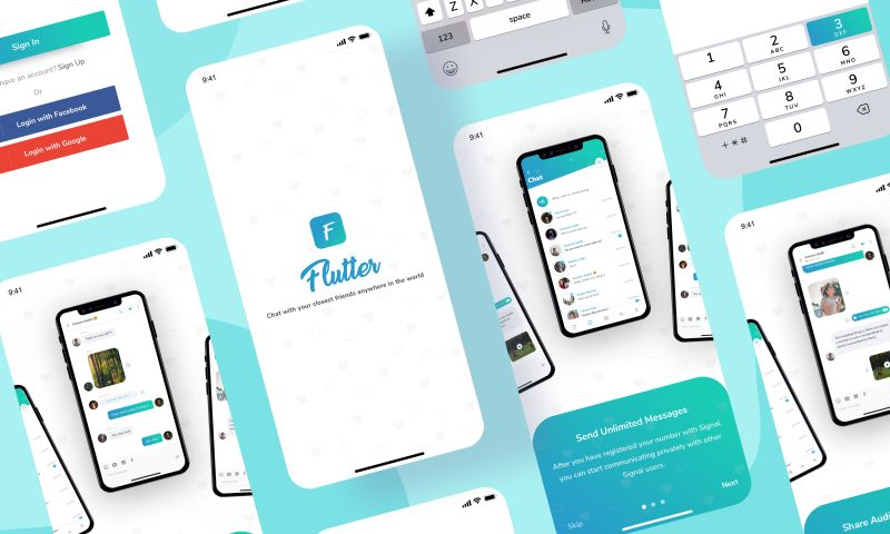 Brightscout - Flutter UI Kit