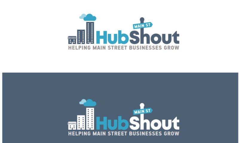 HubShout - Logo Design