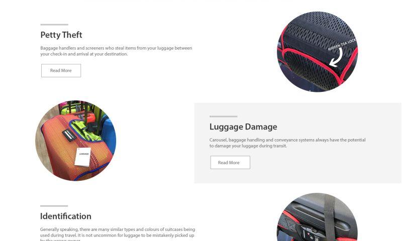 Big Web Media - Luggage Glove