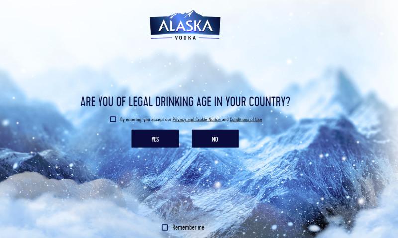 eDesign - Alaska Vodka