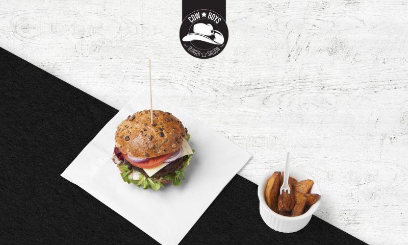 Tafanin Branding Agency - Cowboys Burger Saloon