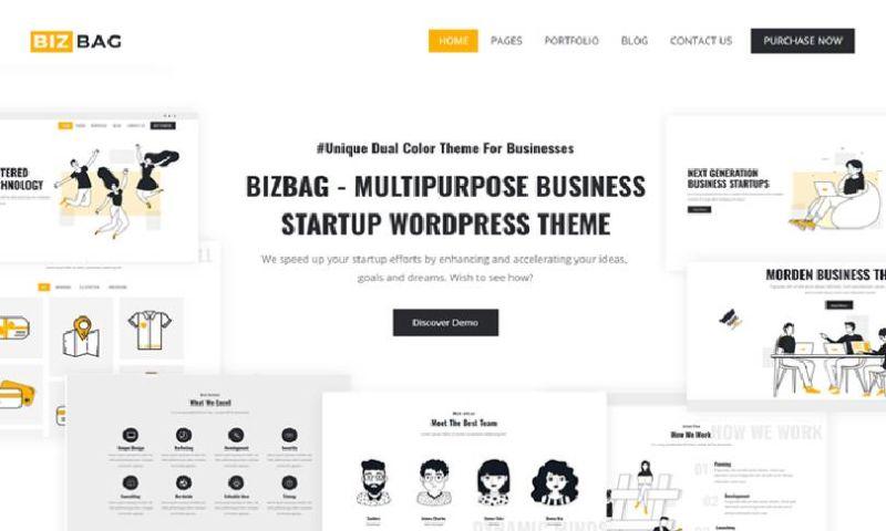 IqonicDesign - Bizbag - Multipurpose Business Startup WordPress Theme