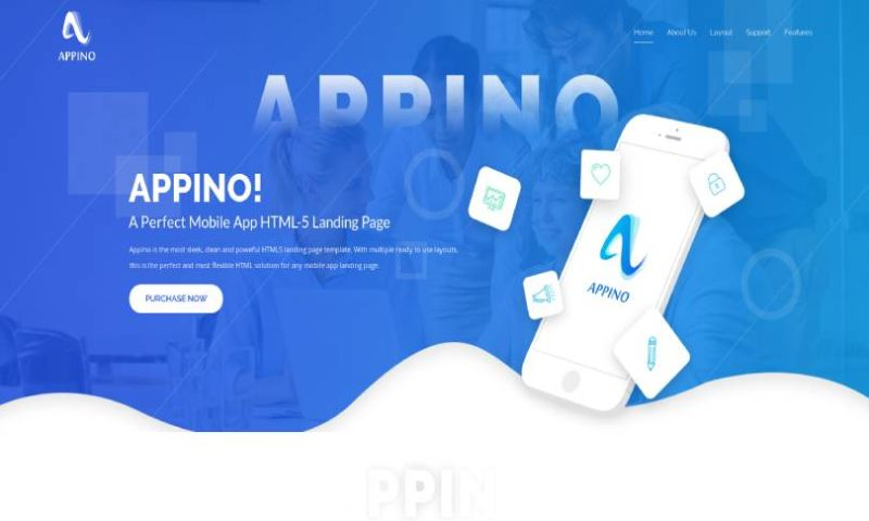 IqonicDesign - APPINO! - A Perfect Mobile App Landing Page